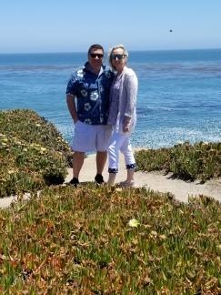 Us in Santa Cruz